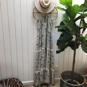 Lovestitch boho crochet maxi dress